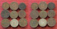 Lot von 9 Kleinmünzen versch. Lot Altdeutschland vor 1871 Altdeutschlan... 44,00 EUR