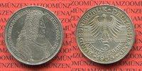 Bundesrepublik Deutschland, FRG, Germany 5 DM Gedenkmünze 5 DM 1955 G, 300. Geburtstag Ludwig Wilhelm Markgraf v. Baden sog. Türkenlouis