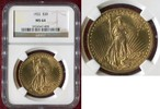 USA 20 Dollars Gold St. Gaudens Double Eagle USA 20 Dollars 1922 Gold St. Gaudens Typ Double Eagle