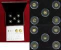 """Die """"Ersten Fünf"""" als Gold NP 2012 Bundesrepublik Deutschland... 189,00 EUR"""