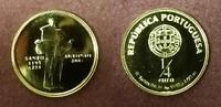 1/4 Euro Mini-Goldmünze 1/20 Unze 2007 Portugal Portugal 2007 1/4 Euro ... 80,00 EUR  +  8,50 EUR shipping