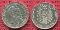 Preußen, Prussia German Empire 2 Mark Silbermünze Preußen 2 Mark 1888 A, Friedrich III.