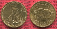 USA 20 Dollars Gold St. Gaudens Double Eagle USA 20 Dollars Gold 1922 St. Gaudens Typ Double Eagle