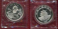 10 Yuan Panda 1 Unze Silber 1998 China Volksrepublik PRC China Panda 10... 134,00 EUR130,00 EUR  +  8,50 EUR shipping