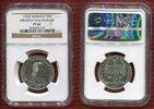 Bundesrepublik Deutschland 5 DM Gedenkmünze Silber Bundesrepublik Deutschland 5 DM 1955, 150. Todestag von Friedrich von Schiller