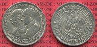 3 Mark Silber 1915 Mecklenburg Schwerin Jahrhundertfeier 100 Years Cele... 295,00 EUR  +  8,50 EUR shipping
