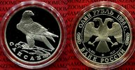 1 Rubel Silber 1996 Russland Gefährdete Tierwelt Wanderfalke pp in Kaps... 69,00 EUR  +  8,50 EUR shipping