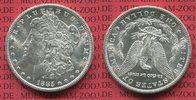 1 Dollar 1885 CC USA Morgan Typ Carson City rare f.stgl. übl. Kontaktma... 850,00 EUR