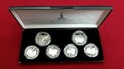 2 x 10, 4 x 5 Rubel Silber 1977 Russland Russia Rußland UDSSR Olympisch... 94,00 EUR90,00 EUR