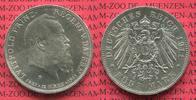 5 Mark 1911 D Bayern, Bavaria 90. Geburtstag von Prinzregent Luitpold. ... 110,00 EUR  +  8,50 EUR shipping