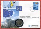 2 Euro Gedenkmünze 2004 Finnland EU Erweiterung Bankfrisch im Numisbrief  49,00 EUR