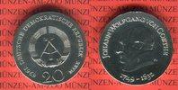 20 Mark 1969 DDR Gedenkmünze 220. Geburtstag Johann Wolfgang von Goethe... 65,00 EUR