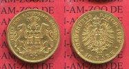 10 Mark Goldmünze 1879 Hamburg Stadtwappen sehr schön+ /sehr schön  255,00 EUR