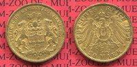 20 Mark Goldmünze 1899 Hamburg, German Empire Free City of Stadtwappen ... 320,00 EUR  +  8,50 EUR shipping