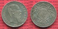 Mexico, Mexiko Kaiserreich 1 Peso Silbermünze Kaiser Maximilian