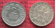 2 Mark 1931 G Weimarer Republik Deutsches Reich Kursmünze Key Date vz p... 60,00 EUR  +  8,50 EUR shipping