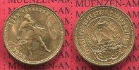 10 Rubel Roubles Tscherwonez Gold 1975 Russland, Russia, UDSSR,  USSR R... 349,00 EUR  +  8,50 EUR shipping