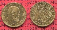 Württemberg 10 Mark Goldmünze Wurttemberg  König Wilhelm II.