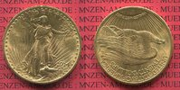 USA 20 Dollars Goldmünze Double Eagle USA 20 Dollars St. Gaudens