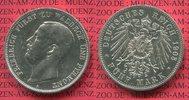 5 Mark Silber 1903 Waldeck Pyrmont Fürst F...
