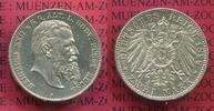 2 Mark Silbermünze 1899 Reuss ältere Linie...
