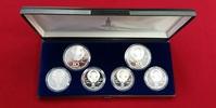 2 x 10, 4 x 5 Rubel Silber 1977 Russland Olympische Spiele in Moskau PP... 94,00 EUR89,00 EUR  +  8,50 EUR shipping