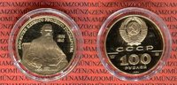 100 Rubel Gold 1/2 Unze 1991 Russland Leo Tolstoi Monument PP Polierte ... 629,00 EUR  excl. 8,50 EUR verzending