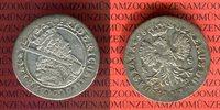 18 Gröscher Silber 1698 SD Brandenburg Preußen Friedrich III. Königsber... 49,00 EUR  excl. 8,50 EUR verzending