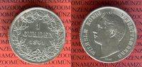 1 Gulden 1841 Württemberg Wilhelm König von Württemberg ss-vz leicht be... 39,00 EUR  excl. 8,50 EUR verzending