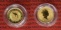 15 Dollar 1990 Australien Nugget, Känguruh 1/10 Unze Gold Stempelglanz ... 135,00 EUR  excl. 8,50 EUR verzending