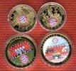 Lot von 4 Medaillen 2013 Deutschland Die größten erfolge des FC Bayern ... 19,00 EUR  excl. 8,50 EUR verzending