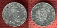 5 Mark Silbermünze 1888 Preußen Friedrich III. vz-prfr.  235,00 EUR  excl. 8,50 EUR verzending