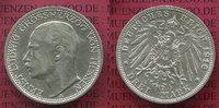 3 Mark Silber Kaiserreich 1910 Hessen Ernst Ludwig, vz-prfr  110,00 EUR  excl. 8,50 EUR verzending