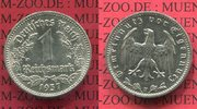 1 Reichsmark 1937 F III. Reich 1933-1945 Nickel prfr.  35,00 EUR  excl. 8,50 EUR verzending