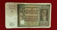 50 Rentenmark 1934 Weimarer Republik Rentenbank 6. Juli 1934 Freiherr v... 24,00 EUR  excl. 8,50 EUR verzending