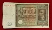 50 Rentenmark 1934 Weimarer Republik Rentenbank 6. Juli 1934 Freiherr v... 29,00 EUR  excl. 8,50 EUR verzending