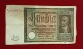 50 Rentenmark 1934 Weimarer Republik Rentenbank 6. Juli 1934 Freiherr v... 35,00 EUR  excl. 8,50 EUR verzending