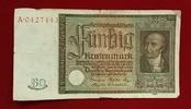 50 Rentenmark 1934 Weimarer Republik Rentenbank 6. Juli 1934 Freiherr v... 25,00 EUR  excl. 8,50 EUR verzending