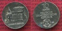 10 Mark DDR Silber Gedenkmünze 1986 DDR 200 Jahre Charité Berlin Stempe... 50,00 EUR  excl. 8,50 EUR verzending