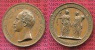 Bonzemedaille 1846 Sachsen Meiningen Bernhard Erich Freund 1803-1866 25... 55,00 EUR  excl. 8,50 EUR verzending