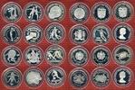 Lot von 12 Silbermünzen 1981/1982 Lot Silbermünzen FIFA WM 1982 Lot von... 299,00 EUR  +  8,50 EUR shipping