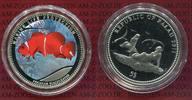 5 Dollars  Dollar 2011 Palau Farbmünze Sil...