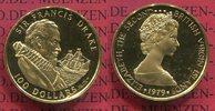 100 Dollars Goldmünze 1979 Britische Jungferninseln, Virgin Islands Sir... 275,00 EUR  plus 8,50 EUR verzending
