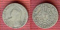 Ecu 1734 E Frankreich Louis XV., Ludwig XV. Tours s Schrötlingsfehler  120,00 EUR  +  8,50 EUR shipping