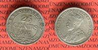 25 Cents 1917 Kanada Neufundland Georg V. sehr schön nicht gereinigt  19,00 EUR  +  8,50 EUR shipping