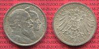 5 Mark Silbermünze Kaiserreich 1906 Baden Goldene Hochzeit des Großerzo... 195,00 EUR  +  8,50 EUR shipping