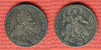 Scudo 1753 Vatikan Papst Benedikt XIV 1740-1758 ss kl. Henkelspur  160,00 EUR  +  8,50 EUR shipping