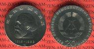 20 Mark Silbergedenkmünze 1968 DDR Silbergedenkmünze 150. Geburtstag Ka... 59,00 EUR  + 8,50 EUR frais d'envoi
