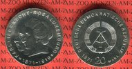 20 Mark Silbergedenkmünze 1971 DDR Silbergedenkmünze 100. Geburtstag Ka... 49,00 EUR  + 8,50 EUR frais d'envoi