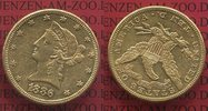 10 Dollars Goldmünze Eagle Coronet Head 1886 USA Liberty, Frauenkopf Co... 649,00 EUR  Excl. 8,50 EUR Verzending